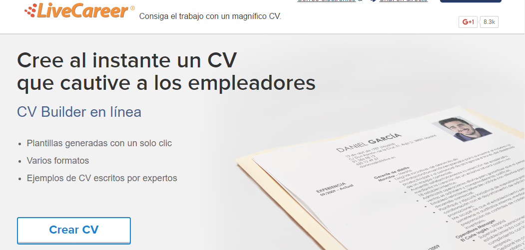 Famoso Hacer Currículums En Línea Festooning - Colección De ...